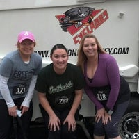 Photo taken at Cincinnati Cyclones Power Play 5K by Rachel G. on 10/13/2012