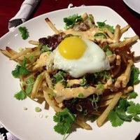 Photo taken at Bachi Burger by Goos on 12/24/2012
