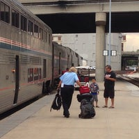 Photo taken at Amtrak Kansas City by Richard B. on 8/15/2014