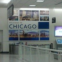 Photo taken at Chicago Midway International Airport (MDW) by Nikeema L. on 7/9/2013