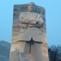 Photo taken at Martin Luther King, Jr. Memorial by Holly M. on 3/24/2013
