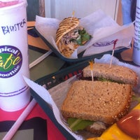 Photo taken at Tropical Smoothie Cafe by Glenn F. on 5/15/2013