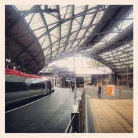 Photo taken at Platform 7 by Liam M. on 9/30/2012