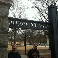 Photo taken at Piedmont Park by Stacy F. on 3/9/2013