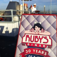 Photo taken at Ruby's Diner by Tony B. on 10/14/2012