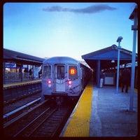 Photo taken at MTA Subway - Kings Highway (B/Q) by 🔌Malectro 7. on 3/27/2013