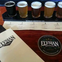Photo taken at Elysian Brewing Company by Jordan on 9/17/2013