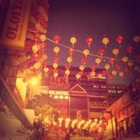 Photo taken at Petaling St. (茨厂街 Chinatown) by M on 1/28/2013