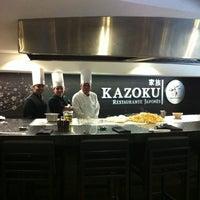Photo taken at Kazoku by Roberto D. on 5/13/2012
