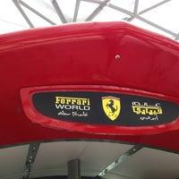 Photo taken at Ferrari World Abu Dhabi by Ahmed A. on 6/15/2013