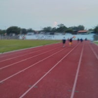 Photo taken at Unidad Deportiva by Victor M. on 8/6/2013