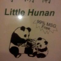 Photo taken at Little Hunan by Melvin V. on 11/4/2012