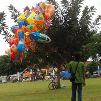 Photo taken at Alun - Alun Kota Magelang by anggraheni N. on 7/7/2013