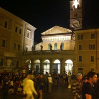 Photo taken at Rione XIII - Trastevere by Stefano on 5/4/2013