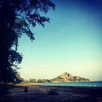 Photo taken at Suan Son Pradipat Beach by Maaiiza on 12/9/2012