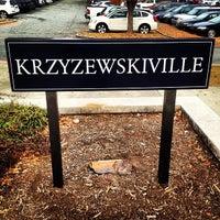 Photo taken at Krzyzewskiville by Dieter K. on 11/12/2012
