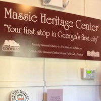 Photo taken at Massie Heritage Center by Sinamor S. on 11/19/2013