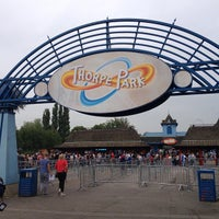 Photo taken at Thorpe Park by Salim on 6/18/2013