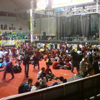 Photo taken at Sritex Arena by Ryo A. on 7/1/2013