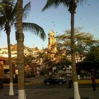 Photo taken at Plaza De Presidencia by Vania G. on 2/2/2013