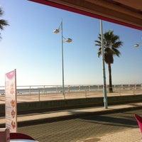 Photo taken at Playa de Valdelagrana by Luis S. on 10/9/2012