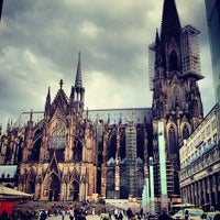 Photo taken at Cologne Cathedral by Andrew R. on 6/11/2013