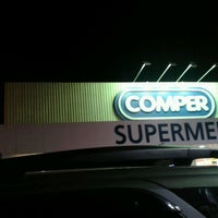 Photo taken at Supermercados Comper by Patrick M. on 1/23/2013