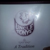 Photo taken at Uncle Tony's by Frank D. on 2/16/2013
