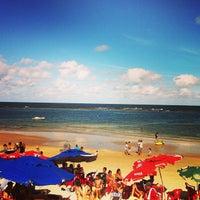 Photo taken at Praia do Francês by Let's Dive E. on 7/17/2013