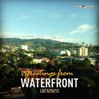 Photo taken at Waterfront Cebu City Hotel & Casino by John Lloyd R. on 5/24/2013