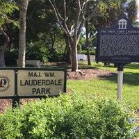 Photo taken at Maj. Wm. Lauderdale Park by Jay K. on 11/12/2015