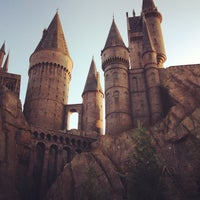 Photo taken at Harry Potter and the Forbidden Journey / Hogwarts Castle by Marcos D. on 11/27/2012
