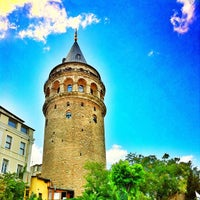 Photo taken at Galata Tower by Amir K. on 7/19/2013