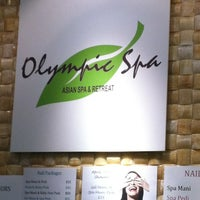 Photo taken at Olympic Spa by Suzanne S. on 4/22/2013