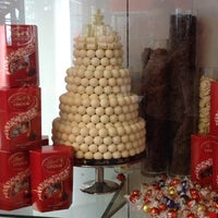 Photo taken at Lindt Chocolate Studio by Myriam A. on 10/9/2013