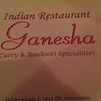 Photo taken at Indian Restaurant Ganesha by Dirk E. on 3/31/2013