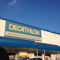 Photo taken at Decathlon by Vanessa A. on 4/27/2013