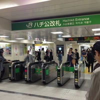 Photo taken at Shibuya Station by Johnny L. on 5/9/2013