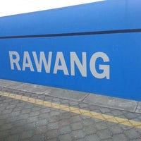 Photo taken at KTM Line - Rawang Station (KA10) by Adithakimi H. on 6/8/2013