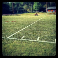Photo taken at Acworth Warriors Football Field by Sean A. on 9/21/2012