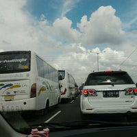 Photo taken at Jalan Tol Jakarta - Cikampek by syifa j. on 2/16/2013