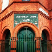 Photo taken at Salford Lads Club by Richard C. on 10/4/2012