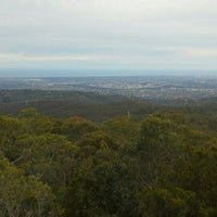 Photo taken at Mt Lofty Summit by Ambler T. on 7/21/2015