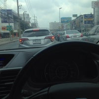 Photo taken at Si Udom Intersection by Jeddilok P. on 4/30/2016