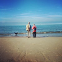 Photo taken at Blériot Plage by Moonsieur P. on 11/6/2013