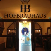 Photo taken at Hofbräuhaus by Аня К. on 2/25/2013