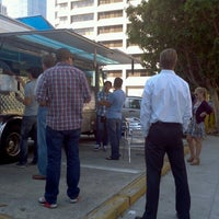 Photo taken at Los Compadres Taco Truck by Karsten M. on 10/2/2012