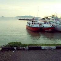Photo taken at Anjung Batu Jetty - Melaka by Qaseeh E. on 12/6/2012