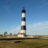 Photo taken at Bodie Island Lighthouse by Chetan M. on 4/5/2013