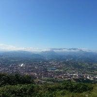 Photo taken at Cima del Naranco by René G. on 8/17/2014